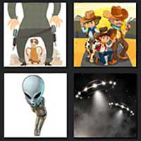 4 pics 1 movie answer cheat Cowboys and Aliens