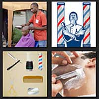 4 pics 1 movie answer cheat Barbershop