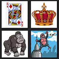 4 pics 1 movie answer cheat King Kong