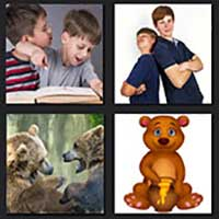 4 pics 1 movie answer cheat Brother Bear