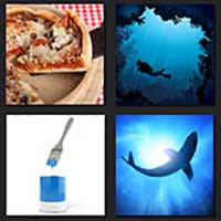4 pics 1 movie answer cheat Deep Blue sea