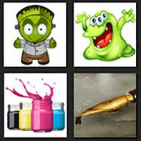 4 pics 1 movie answer cheat Monsters Inc
