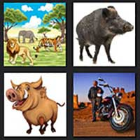 4 pics 1 movie answer cheat Wild Hogs