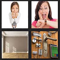 4 pics 1 movie answer cheat Panic Room