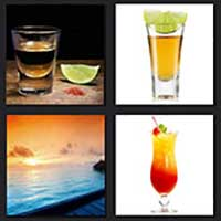 4 pics 1 movie answer cheat Tequila Sunrise