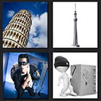 4 pics 1 movie answer cheat Tower Heist