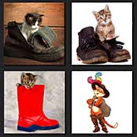 4 pics 1 movie answer cheat Puss in Boots