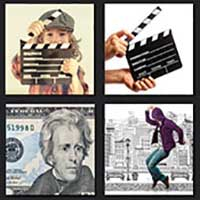 4 pics 1 movie answer cheat Action Jackson