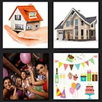 4 pics 1 movie answer cheat House Party