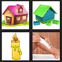 4 pics 1 movie answer cheat House of Wax