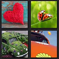 4 pics 1 movie answer cheat The Love Bug