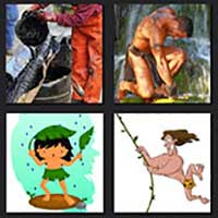 4 pics 1 movie answer cheat Tarzan