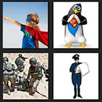 4 pics 1 movie answer cheat Super Troopers