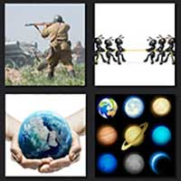 4 pics 1 movie answer cheat War of the Worlds
