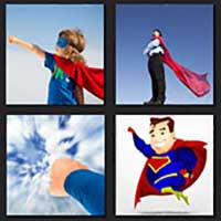 4 pics 1 movie answer cheat Superman