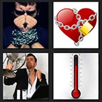 4 pics 1 movie answer cheat Chained Heat