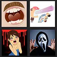 4 pics 1 movie answer cheat Scream