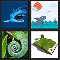 4 pics 1 movie answer cheat Shark Tale