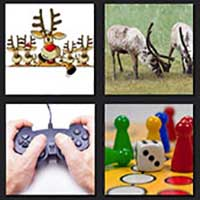 4 pics 1 movie answer cheat Reindeer Games
