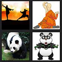 4 pics 1 movie answer cheat Kung Fu Panda