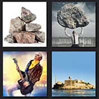 4 pics 1 movie answer cheat The Rock