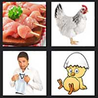 4 pics 1 movie answer cheat Chicken Little