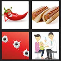 4 pics 1 movie answer cheat Hot Shots!