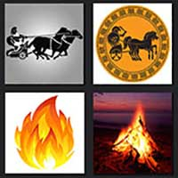 4 pics 1 movie answer cheat Chariots of Fire