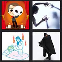 4 pics 1 movie answer cheat The Phantom