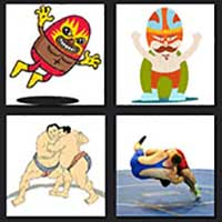 4 pics 1 movie answer cheat The Wrestler