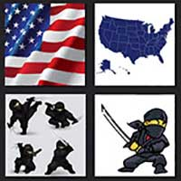 4 pics 1 movie answer cheat American Ninja