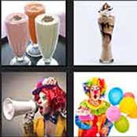 4 pics 1 movie answer cheat Shakes the Clown