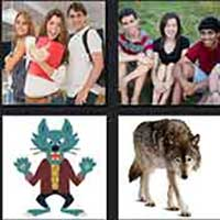 4 pics 1 movie answer cheat Teen Wolf