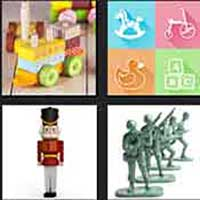 4 pics 1 movie answer cheat Toy Soldiers