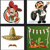 4 pics 1 movie answer cheat The Mexican
