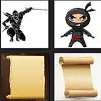4 pics 1 movie answer cheat Ninja Scroll