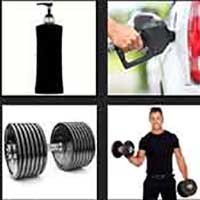 4 pics 1 movie answer cheat Pumping Iron