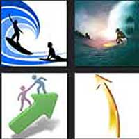 4 pics 1 movie answer cheat Surf's Up