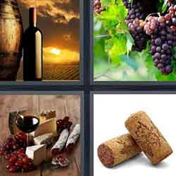 4 pics 1 word answers and cheats level Wine