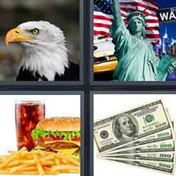4 pics 1 word answers and cheats level USA