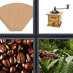 4 pics 1 word answers and cheats level Coffee