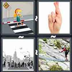 4 Pics 1 Word Answers And Cheats Level Crossing